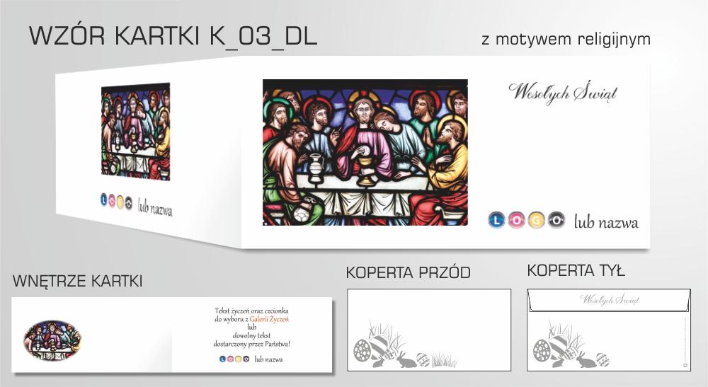 kartki wielkanocne firmowe religijne