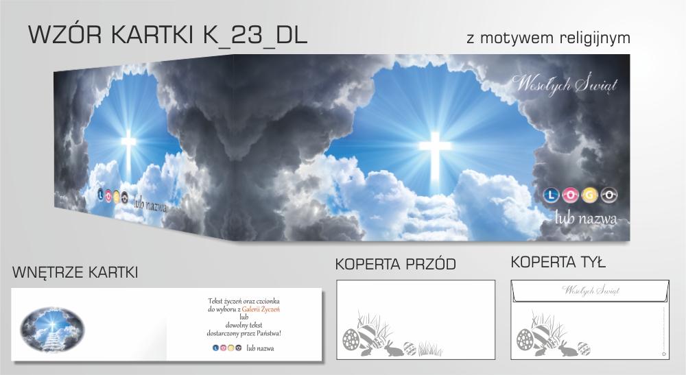 Kartki wielkanocne z logo